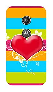 SWAG my CASE PRINTED BACK COVER FOR MOTOROLA MOTO E2 Multicolor