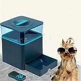 Alimentatore Automatico per Cani Gatti Alimentatore di animali domestici per cani e gatti Alimentatore automatico per alimenti per cani alimenti per cani Comprende registratore vocale e timer digitale