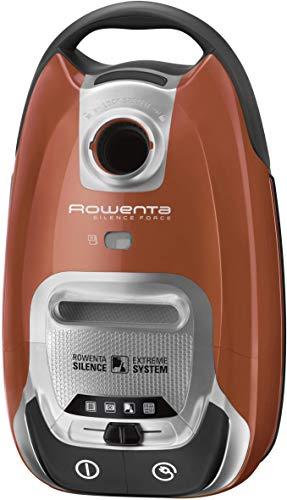 Rowenta Silence Forcec 4A RO6432-Aspirador Force 66db, AAAA, Triple filtración Extrema, 750 W, 66 Decibeles, plástico, Naranja