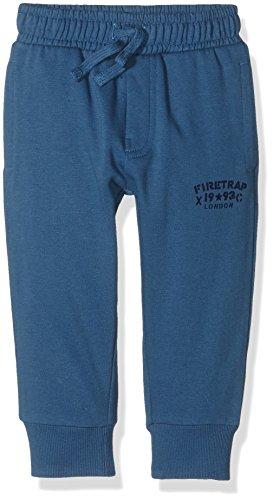 Firetrap Core Fleece Jogger, Pantaloni Sportivi Bambino, Blu (Dark Blue), 8-9 anni (Taglia Produttore: 8-9Y)