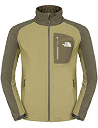 The North Face para hombre softshell–Apex St Elias Green, Small