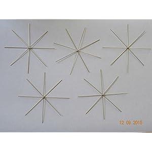 50 Drahtsterne 10 cm für Perlensterne