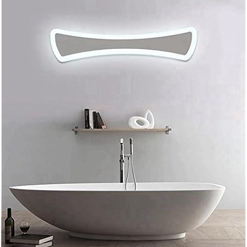 Moderna semplice / LED / acrilico / specchio anteriore della