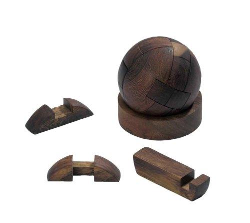 Philos 6037 - Kugel-Puzzle, 12 Puzzle Teile, Knobelspiel
