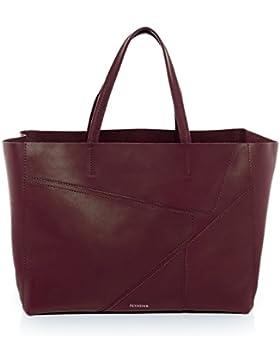 FEYNSINN Handtasche mit langen Henkeln JAX PUZZLE - Schultertasche groß fit für 13