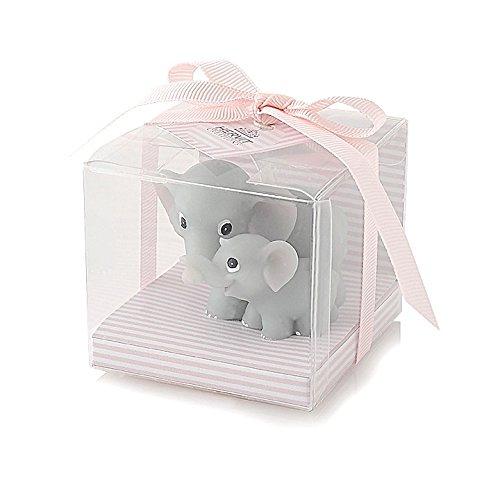 hervit Art. 24838vela par elefantes Baby Rosa