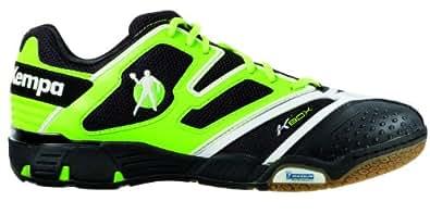Kempa Status XL 200843701, Herren Sportschuhe - Handball, Grün (grün/schwarz/weiß), EU 41 (UK 7.5) (US 8)