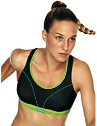 Shock Absorber - Ultimate Run - Sport-BH - Schwarz-Limette