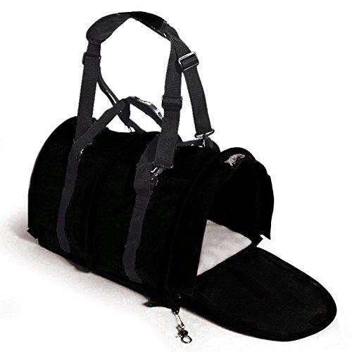 Sturdi Bag Extra Large Pet Carrier in Black