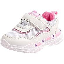 YanHoo Zapatos para niños pequeños Zapatillas de Deporte Casuales Malla Suave Zapatos con Letras Calzado Deportivo