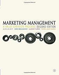 Marketing Management: A Value-Creation Process by Alain Jolibert (2012-09-04)