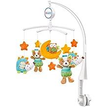 Fehn Musik-Mobile / Spieluhr-Mobile zum Lauschen & Staunen / Zum Befestigen am Bett für Babys von 0-5 Monaten