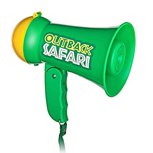 Dress Up America Rollenspiel Kinder Safari Outback Megaphon mit Sirene Sound Handheld Mic Spielzeug