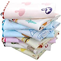 Women's Cotton Face Towel Set (Multicolour, 25x25 cms) - Pack of 6