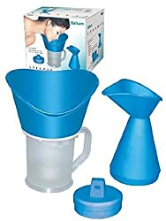 Virtual World 3 in 1 Best Steamer Cup Cum Vaporizer, Nozzle Inhaler, Facial Sauna Steaming Face Vaporizer (Model-Elda)