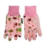 Childrens' Gardening Gloves (Pink)