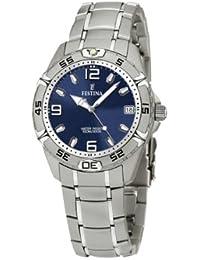 FESTINA F16171/4 - Reloj de mujer de cuarzo, correa de acero inoxidable color plata