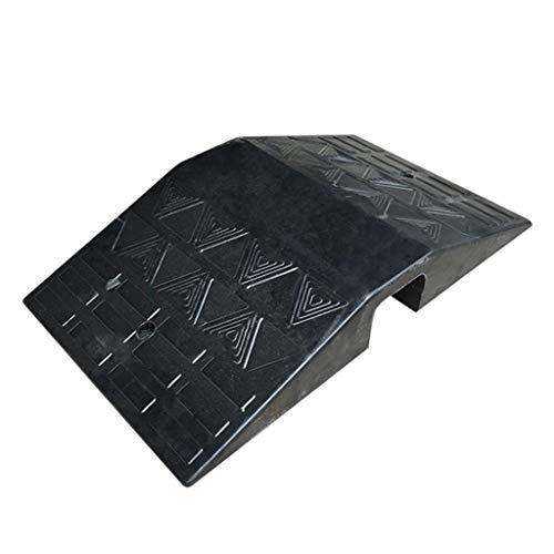 Bodenkabel Drahtabdeckung Ordentlicher Schutz Sicherheitskanal Stoßstange Hochleistungsgummi Bordsteinkantenrampen ()