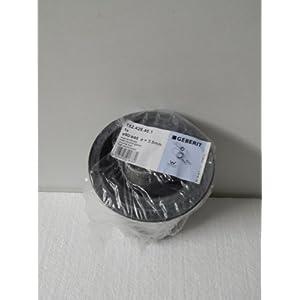 Geberit 152.426.46.1 Anschlussset für Wand-WC PE d90 / 110, 180mm mit Deckkappen