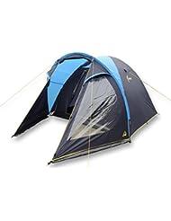 Best Camp Zelt Conway 4 - Tienda de campaña iglú, color azul, talla única