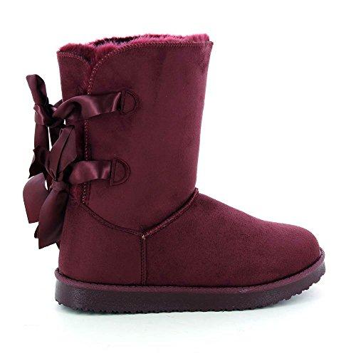 bottines-style-boots-interieur-fourre-a-rubans-39-rouge