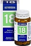 BIOCHEMIE Orthim 18 Calcium sulfuratum D 12 Tabl. 100 St Tabletten