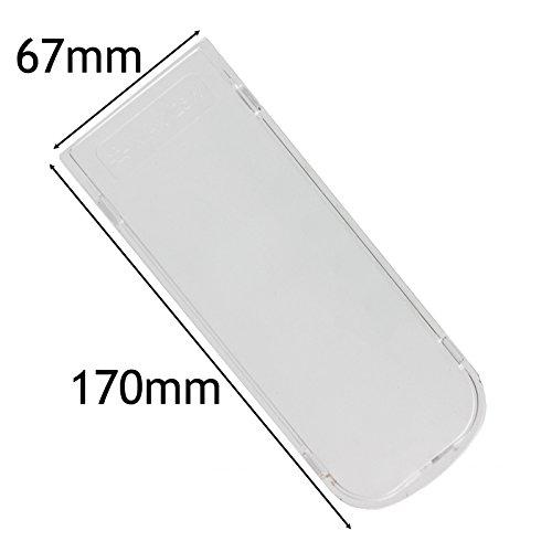 Spares2go campana difusor de luz/placa de tapa del objetivo (170mm x 67mm)
