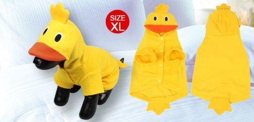 Imagen de sodial r ropa de perro de diseno del pato de navidad fiesta de disfraz atuendos de mascota xl alternativa