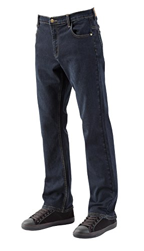 Price comparison product image Lee Cooper Stretch Workwear Jean Navy Work Trousers Blue Navy wash