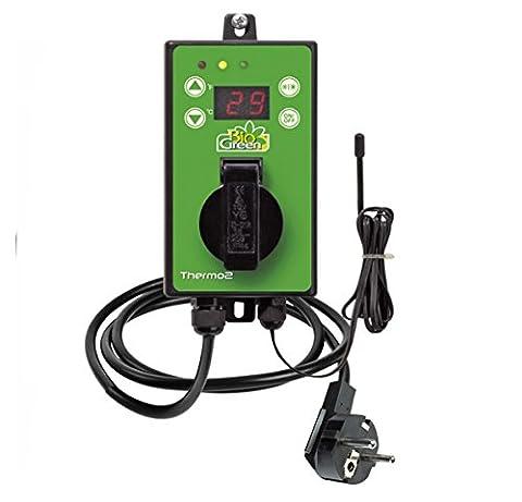 Bio Green Digital-Thermostat, grün