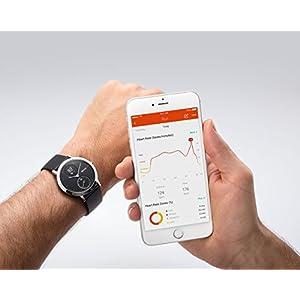 Nokia health Withings Steel HR - Reloj de Seguimiento de la Actividad con monitorización de la frecuencia cardíaca, tamaño 40 mm, Color Negro