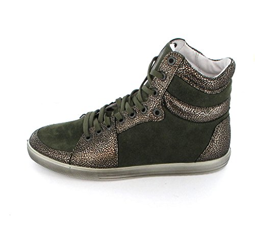 Ricosta 54.24200 janine design fille-timo pour femme bronze Vert - Bronce-Timo