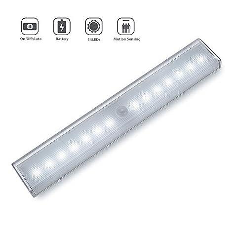 Rechargeable Motion Sensor Light, Cynthia 14 LED