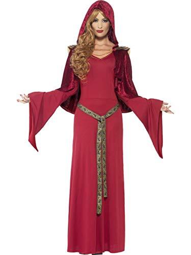 Faschingsfete - Damen Frauen Mittelalterliches Hohepriesterinnen Kostüm mit -