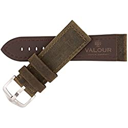 Valour Sopwith Aviator Vintage Dark Green Strap