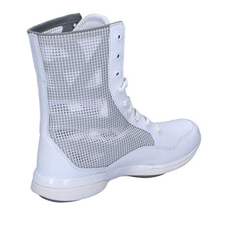 Armani EMPORIO Reebok Sneakers Stivaletti Donna Pelle Tessuto Bianco