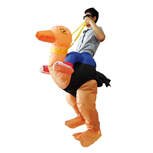Aufblasbares Strauß Kostüm für (Strauß Aufblasbares Kostüm)