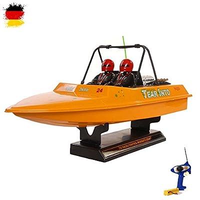 RC ferngesteuertes Boot Tear Into Jet, Rennboot Modellbau Top-Speed inkl. Fernsteuerung, Powerakku und Zubehör Ready-To-Run von HSP Himoto