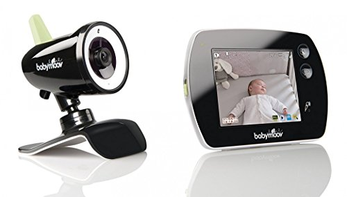 Babymoov A014411 Touch Screen Babyphone Video, Nero