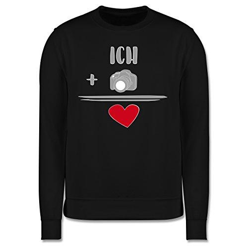 Statement Shirts - Fotografie-Liebe - Herren Premium Pullover Schwarz