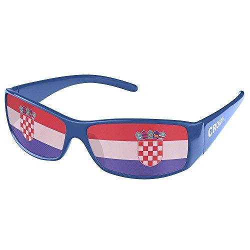 Piersando® Sonnenbrille WM & EM Fanartikel Kroatien