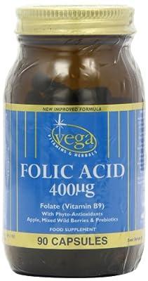 Vega Folic Acid (Vitamin B9) 400?g from Vega