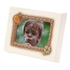 Idea Regalo - THUN Portafortuna Portafoto, Ceramica, Variopinto, 20.8 x 15.8 Centimeters
