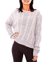 3602dc94aed980 Suchergebnis auf Amazon.de für: Zopfmuster Pullover - Damen: Bekleidung
