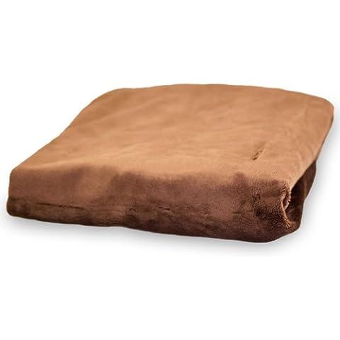 Rumble Tuff CV-CT-300-CH Est-ndar sedoso Minky Modificaci-n del coj-n de cubierta - Chocolate