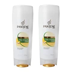 Pantene Pro-V Silky Smooth Care Conditioner, 175ml (Pack of 2)