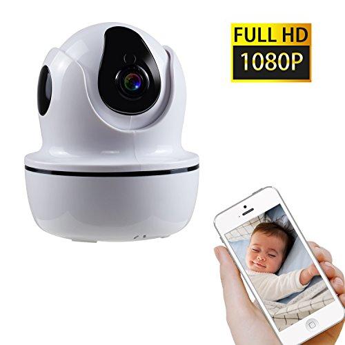Preisvergleich Produktbild NEXGADGET IP Kamera 1080P HD WLAN Überwachungskamera Sicherheitskamera für Indoor mit Nachtsicht