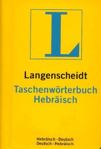 Langenscheidts Taschenwörterbuch, Hebräisch