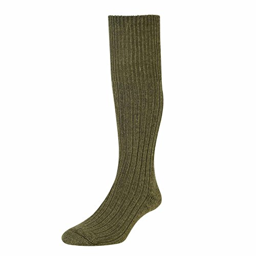 mens-hj-hall-commando-hj3000-all-action-military-army-walking-hiking-rambling-socks-1-pair-pack-oliv