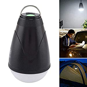 Outdoor-Zeltlampe, wiederaufladbare ultrahelle USB-LED-Lampe mit Fernbedienung 100% wasserdicht und staubdicht in…